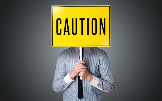 注意 caution イメージ画像