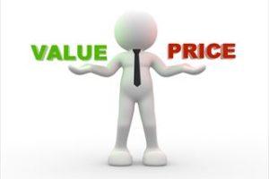 価格と価値のバランス