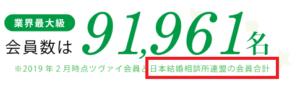 zwei会員数9万人画像